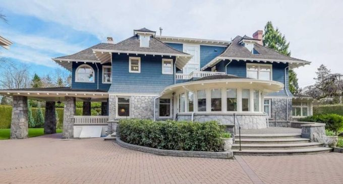 Shaughnessy's c.1912 Rocklands Mansion Reduced to $8.88M, Prev. $12.38M (PHOTOS)