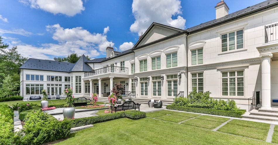 35,000 Sq. Ft. Mansion Lists in Toronto's Upscale Bridle Path for $38.9M (PHOTOS)