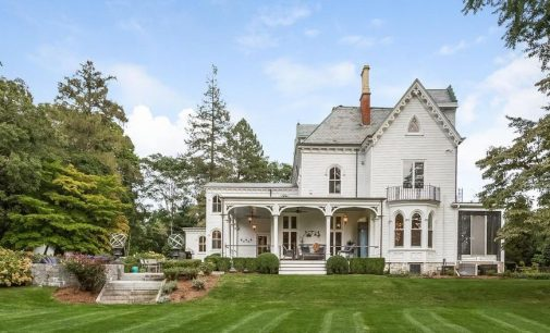 Darien, CT's Historic c.1856 Garden Gate Estate Reduced to $3.17M (PHOTOS)