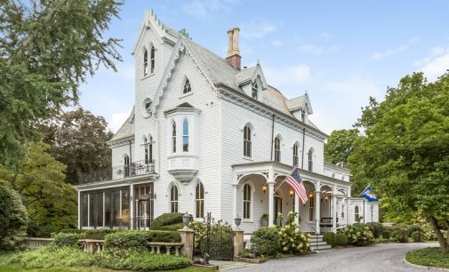 Darien, CT's Historic c.1856 Garden Gate Estate for $3.49M (PHOTOS)