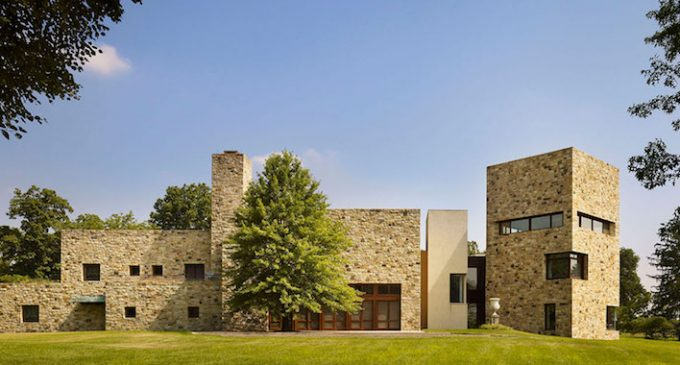 Arbor Hill, A 37,000 Sq. Ft. Philadelphia Masterpiece by Architect Rafael Viñoly Reduced to $22M, Prev. $30M (PHOTOS)