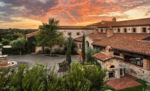 17 Acre Hilltop Borgo Vissuto Estate Lists in Boerne, TX for $7.95M (PHOTOS & VIDEO)