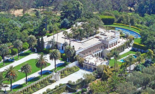Montecito's Historic Peabody Estate, Villa Solana Reduced to $36.89M, Prev. $57.7M (PHOTOS)