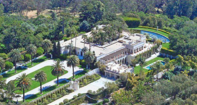 Montecito's Historic Peabody Estate, Villa Solana Reduced to $36.89M, Prev. $57.7M (PHOTOS)