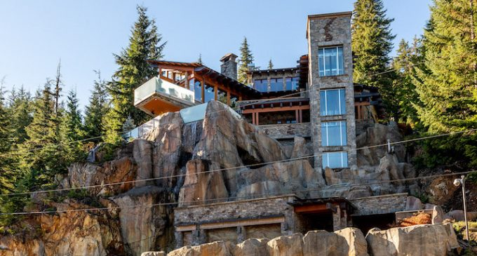 Stonecliff Falls, Landmark Whistler, BC Chalet Reduced to $8.9M CAD, Prev. $14M CAD (PHOTOS & VIDEO)