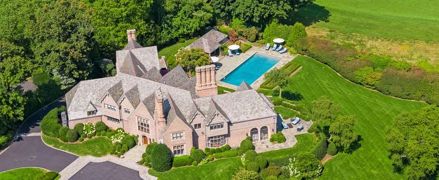 Historic c.1929 Tudor Revival Redesigned & Expanded by Mackin Architects Lists for $7.99M (PHOTOS)