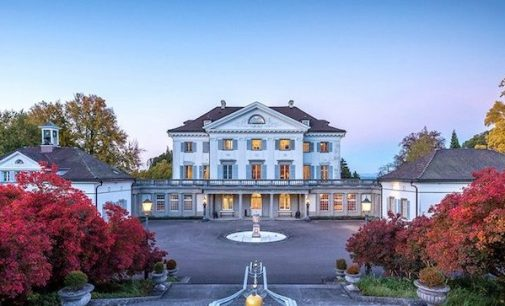 Switzerland's Historic 18th Century Eugensberg Castle Hits the Market (PHOTOS & VIDEO)