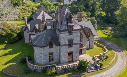 Irvington, NY's Gothic Revival Strawberry Hill Manor is a Fixer-Upper for $1.15M (PHOTOS)