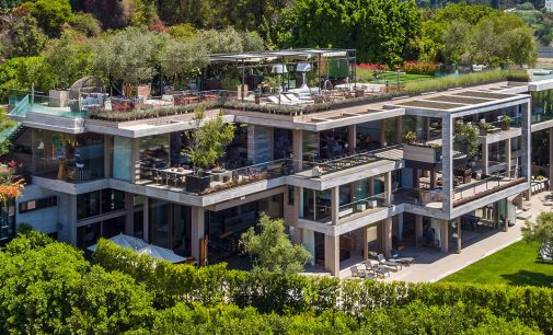Bel Air's 25,000 Sq. Ft. Villa Sarbonne Lists for $88M (PHOTOS & VIDEO