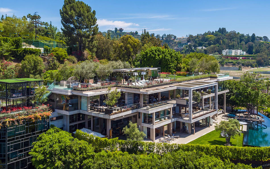 Bel Air S 25 000 Sq Ft Villa Sarbonne Lists For 88m Photos Video Pricey Pads