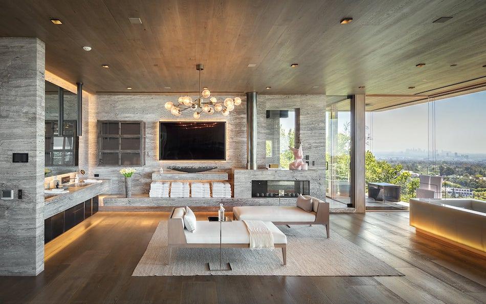 Bel Air's 25,000 Sq. Ft. Villa Sarbonne Lists for $88M ...