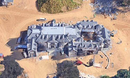 Stone Mansion Replica Under Construction in Mendham, NJ (PHOTOS)
