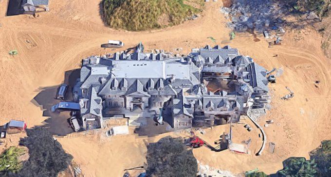 Stone Mansion Replica Under Construction in Mendham, NJ (PHOTOS)
