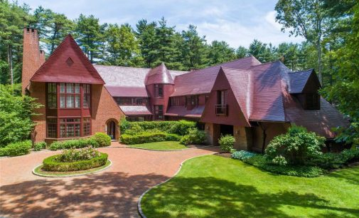 IKB's Iconic Red House in Oyster Bay, NY Reduced to $5M (PHOTOS)