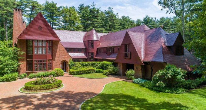 IKB's Iconic Red House in Oyster Bay, NY Reduced to $6M (PHOTOS)