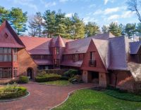 IKB's Iconic Red House Lists in Oyster Bay, NY for $6.5M (PHOTOS)