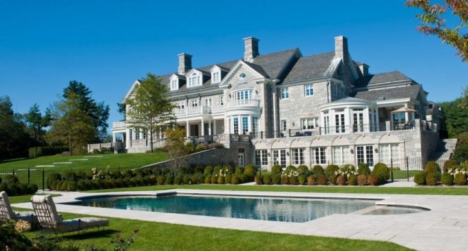 18,000 Sq. Ft. Georgian Manor Designed by Thompson Raissis Architects Sells for $17.5M, Prev. $35M (PHOTOS & VIDEO)