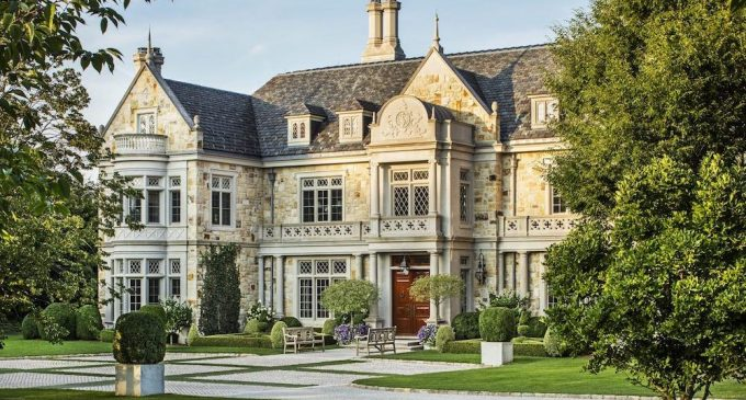 Quintessential Jacobean Country Home in Greenwich, CT By Wadia Associates Lists for $18.75M (PHOTOS)