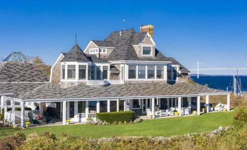 Channel Bells, c.1888 Rhode Island Summer Cottage Reduced to $3.49M, Prev. $5.99M (PHOTOS)