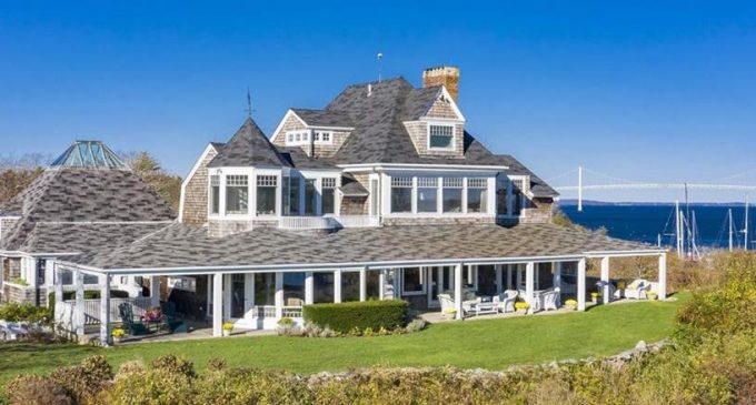Channel Bells, c.1888 Rhode Island Summer Cottage Reduced to $3.49M, Prev. $5.99M (PHOTOS)