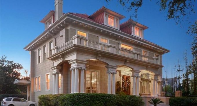 Spectacular Beaux-Arts Mansion Designed by Architect Emile Weil in New Orleans, LA Sells for $1.95M (PHOTOS)