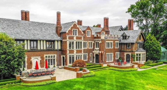 Historic c.1928 J. Bell Moran House Lists in Grosse Pointe Park, MI for $7M (PHOTOS & VIDEO)