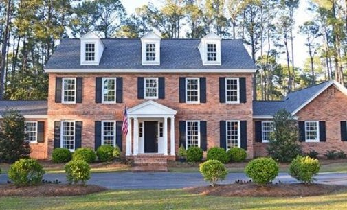 Dated Brick Home Transformed into Sophisticated Georgian by Wilson Design & Construction (PHOTOS)