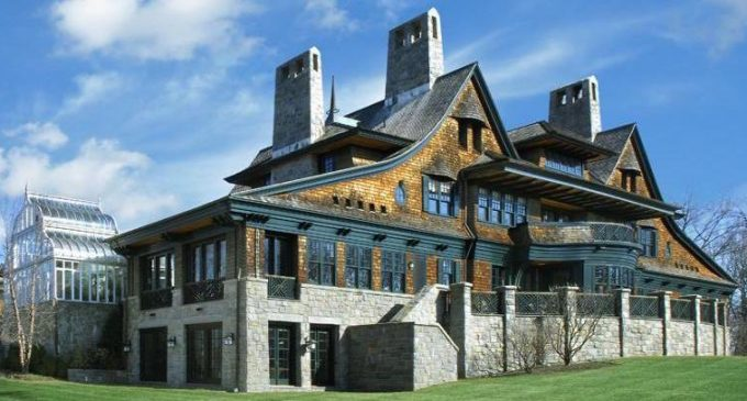 21,000 Sq. Ft. Shope Reno Wharton Designed Masterpiece Sells for $10.5M (PHOTOS)