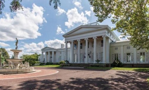Historic c.1843 Vaux Hill Estate Reduced to $2.79M, Prev. $9M (PHOTOS & VIDEO)