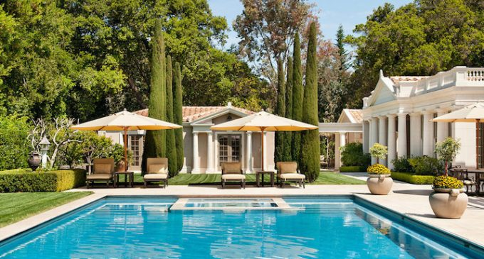 Neoclassical Villa in Atherton, CA by Andrew Skurman Architects (PHOTOS)