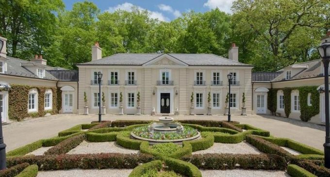 1940s Bryn Mawr Villa Patterned After French Hunting Lodge La Lanterne Reduced to $3.9M, Prev. $7.9M (PHOTOS)