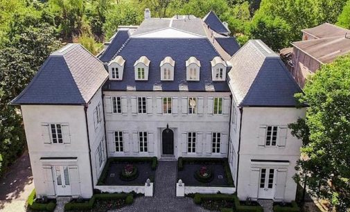 Traditional French Manor by Thomas O'Neill Homes in Houston, TX for $8.5M (PHOTOS & VIDEO)