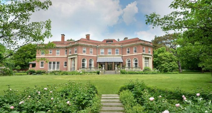 Elegant c.1916 Lake Forest Mansion by Frederick Wainwright Perkins for $3.4M (PHOTOS)