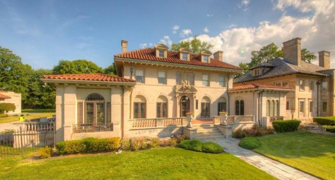 Detroit, MI's Historic c.1917 Michelson Estate Sells for $1.65M (PHOTOS & VIDEO)