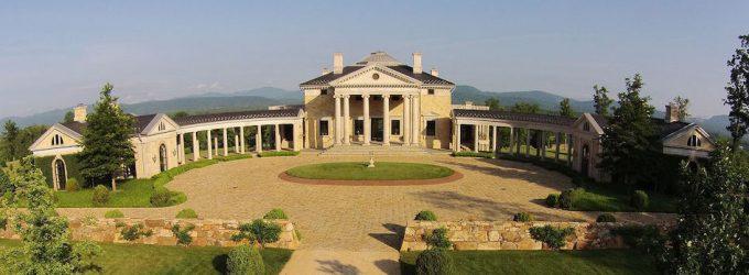Palladian Villa in Virginia's Albemarle County by Dalgliesh Gilpin Paxton Architects (PHOTOS)