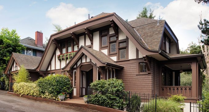 Charming c.1910 Portland Heights Tudor Reduced to $1.09M (PHOTOS)