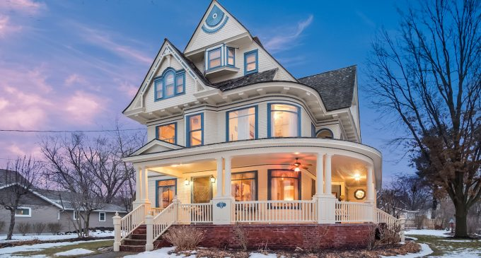 Historic c.1896 Victorian in Brodhead, WI for $379K (PHOTOS)
