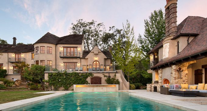 Inside a $9.99M Woodside Mansion Reimagined by Linda L. Floyd Interior Design (PHOTOS)