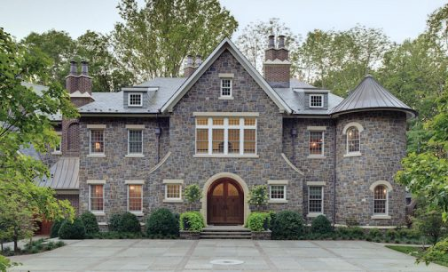 Inside a Country Stone Manor by Island Architects in Princeton, NJ (PHOTOS)