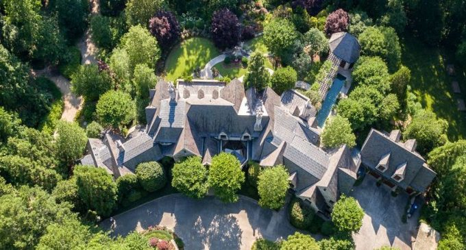 Atlanta Manor with Winter Garden Inspired by Biltmore Estate Reduced to $12.5M, Prev. $15.9M (PHOTOS)
