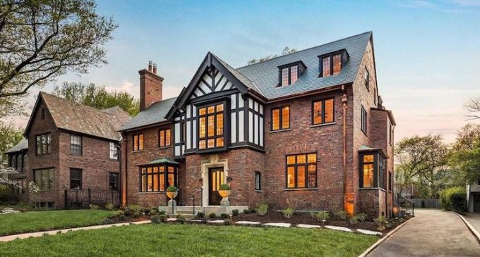 c.1929 Tudor by Period Restoration in Saint Louis, MO Sells for $1.6M (PHOTOS & VIDEO)
