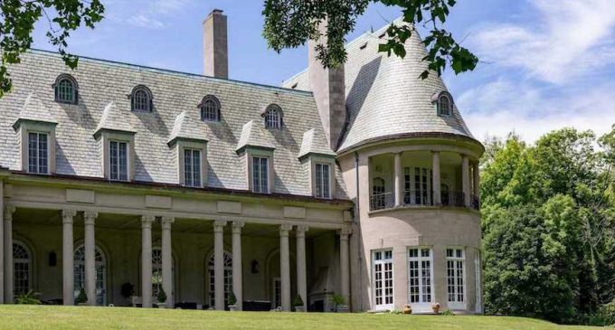 French Normandy-Style Mansion on Long Island Designed by McKim, Mead & White Reduced to $13.8M, Prev. $19.8M (PHOTOS)