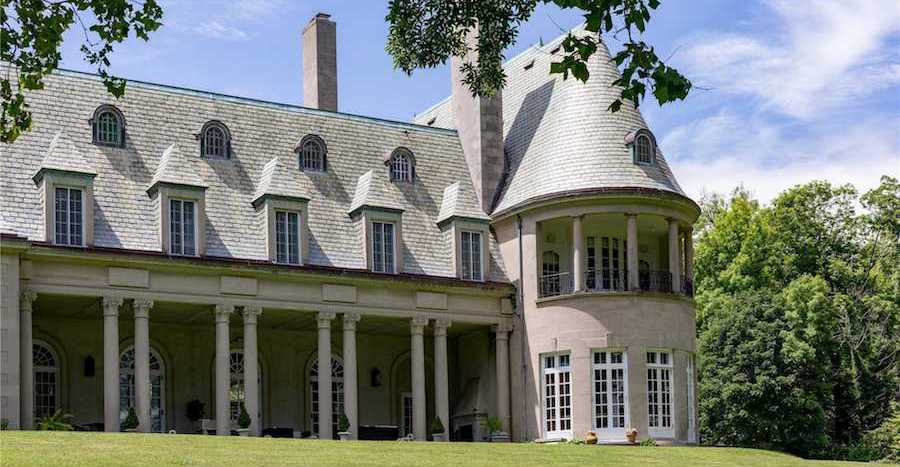 French Normandy-Style Mansionon Long Island Designed by McKim, Mead & White Reduced to $13.8M, Prev. $19.8M (PHOTOS)