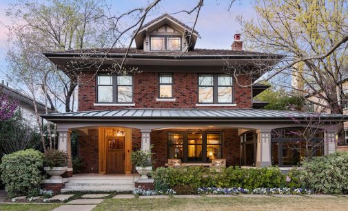 Expanded c.1915 Craftsman in Highland Park, TX Reduced to $4.59M (PHOTOS)
