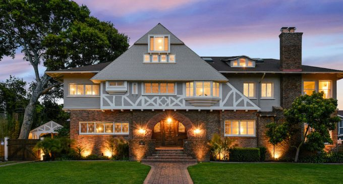 Historic c.1910 Tudor Mansion in Alameda, CA for $3.95M (PHOTOS)