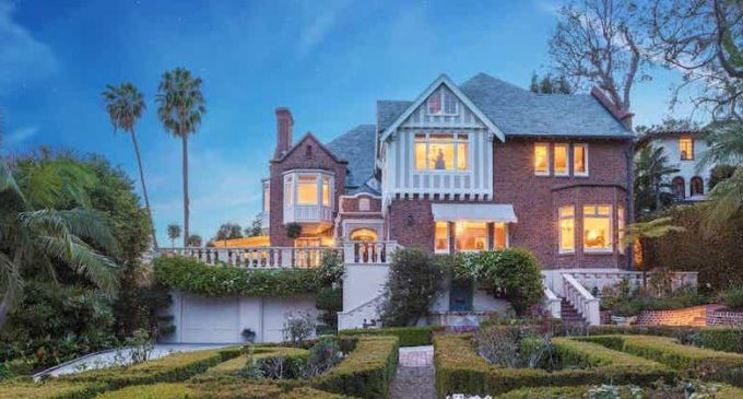 Historic Tudor Revival Mansion in Los Angeles, CA Reduced $18.8M, Prev. $26M (PHOTOS)