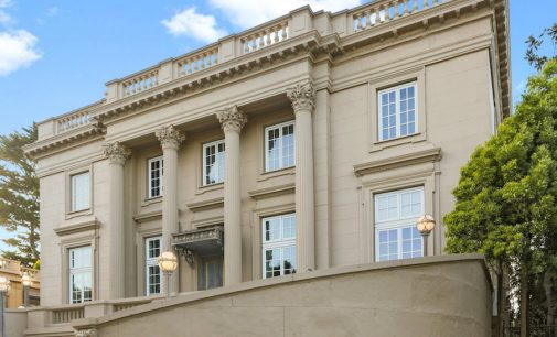 Historic Designer Showcase Mansion in San Francisco Lists for $30M (PHOTOS)