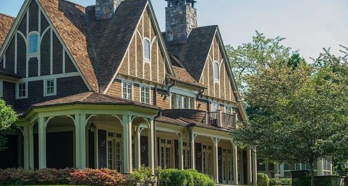 New England Shingle-Style Residence by Austin Patterson Disston Reduced to $9.7M, Prev. $11.7M (PHOTOS & VIDEO)