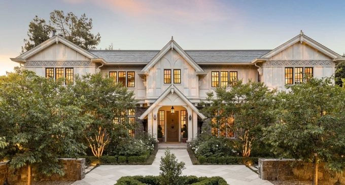 Former Facebook COO Lists c.1917 Tudor in Palo Alto, CA for $40M (PHOTOS & VIDEO)