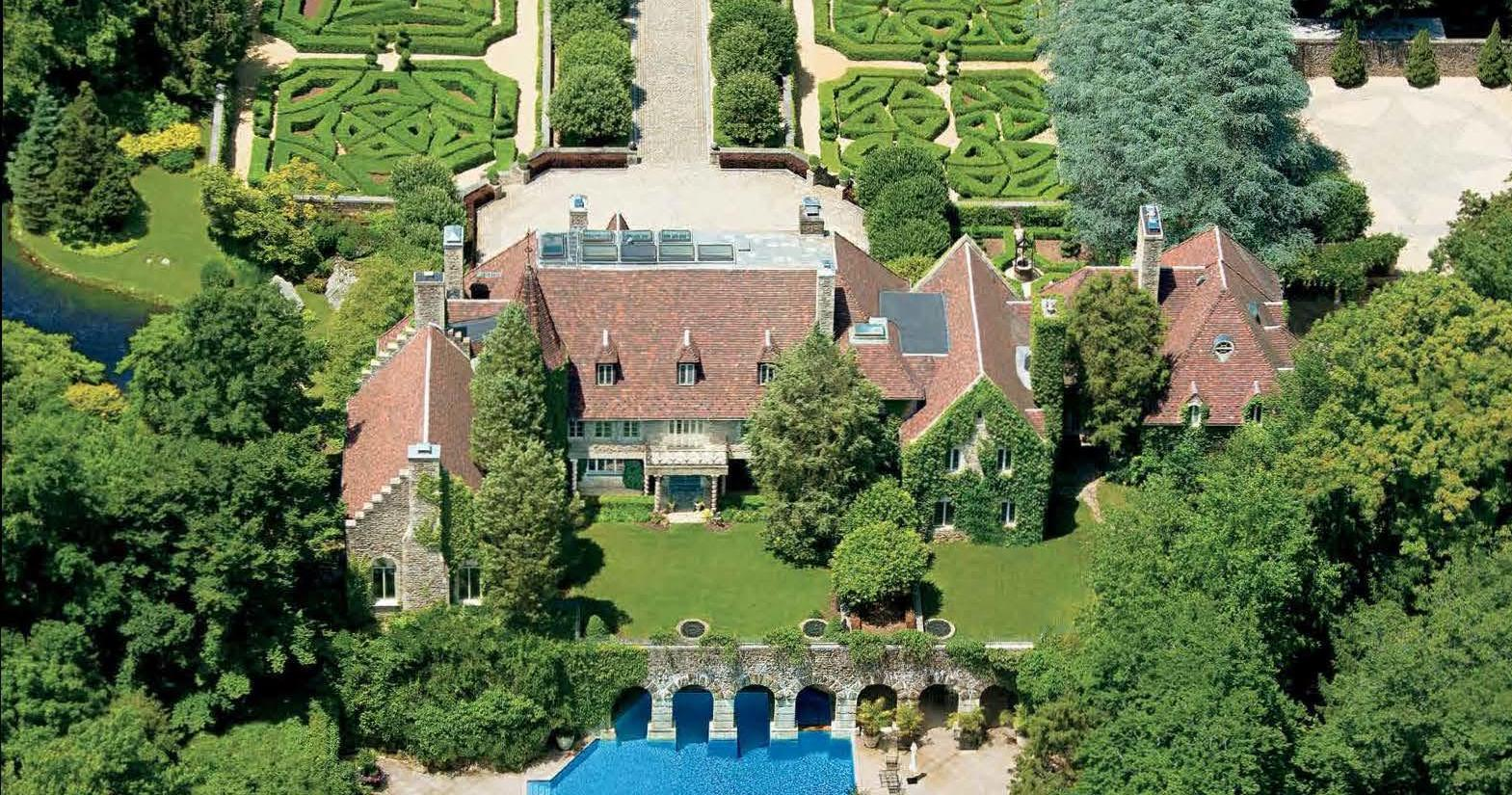 Greenwich, CT's Historic c.1927 Ream Chateau on the Market for $25M (PHOTOS)